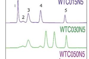 Chromatograms from WTC Columns for Proteins